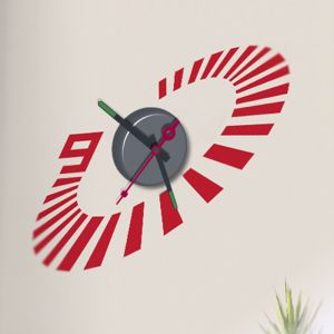 Horloge murale sticker Design