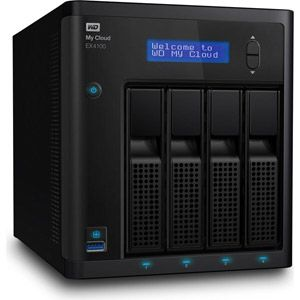 Western Digital WDBWZE0080KBK - Serveur NAS My Cloud EX4100 8 To