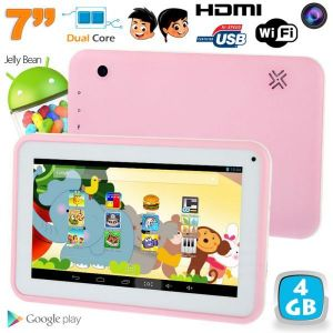 "Yonis Tablette tactile enfant éducative 7"" 4 Go Dual Core sous Android 4.2"