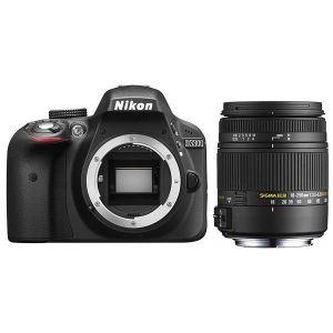 Nikon D3300 (avec objectif Sigma 18-250mm)