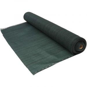 Brise Vue vert foncé 300 g/m² 1 x 10 mètres Vert