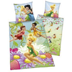 Herding Parure de lit réversible Disney Fairies (140 x 200 cm)
