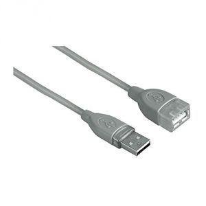 Hama 00045027 - Rallonge USB type A mâle vers A femelle 1.80m