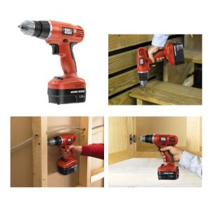 Black & Decker EPC12CABK - Perceuse visseuse sans fil 12V