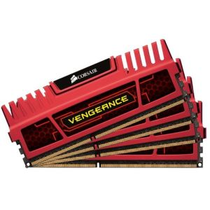 Corsair CMZ32GX3M4X1866C10 - Barrette mémoire Vengeance 4 x 8 Go DDR3 1866 MHz CL10 240 broches