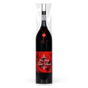 Gift House Int Brosse WC en forme de bouteille de vin