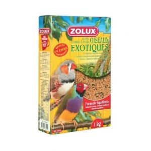 Zolux Nourriture en graine pour oiseaux bg mélange exotique