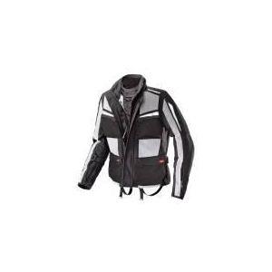 Spidi Netforce (noir et gris) - Blouson de moto textile waterproof pour homme