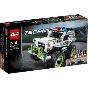Lego 42047 - Technic : La voiture d'intervention de police