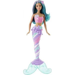 Mattel Barbie Sirène multicolore bonbons