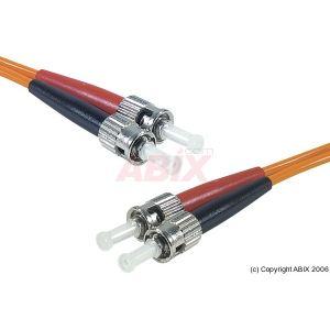 Abix 390100 - Cordon fibre optique ST/ST 62,5/125 10m
