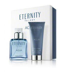 Calvin Klein Eternity Aqua - Coffret eau de toilette et gel douche
