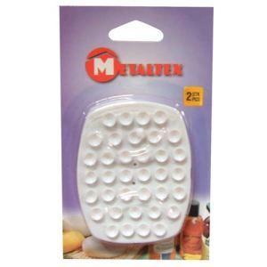 Metaltex 2 porte-savons à ventouse