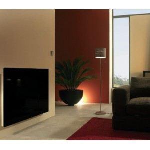 Fondis VFRV63ST1500 - Radiateur électrique Solaris Soft touch vertical avec thermostat radio 1500 Watts