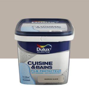 Peinture marron glace comparer 25 offres for Dulux valentine cuisine