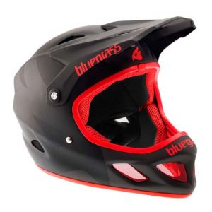 Bluegrass Eagle Casque Explicit noir mat/rouge - S 54-56