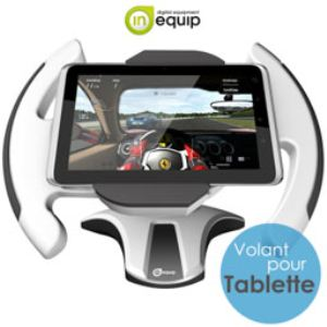 In Equip TRW10  - Support volant de course pour tablette