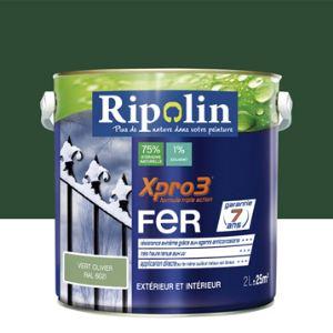 Ripolin Peinture Xpro3 Fer 2 litres