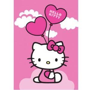 Unamourdetapis Tapis pour chambre d'enfant Hello Kitty (95 x 133 cm)