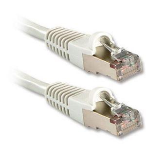 Lindy 45758 - Câble réseau patch Cat.6 S/FTP PIMF 0,5m