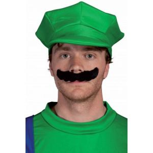Ptit Clown Moustache Mario/Luigi
