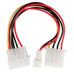 Valueline VLCP74205V015 - Câble adaptateur d'alimentation interne 0,15 m Multicolore
