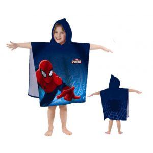 Cti 042484 - Cape de bain Spiderman (60 x 120 cm)