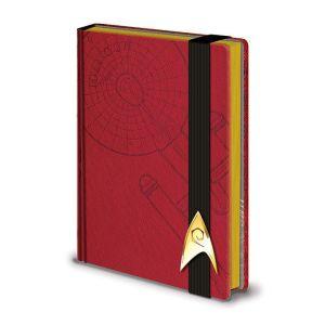Pyramid International Carnet de notes Premium A5 Engineering Red Star Trek