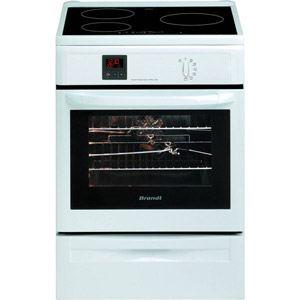 Brandt KIP710 - Cuisinière induction 4 zones avec four électrique