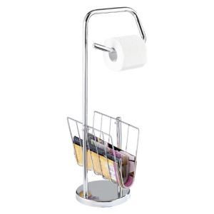 Wenko 19654100 - Dérouleur-papier WC et porte-revues
