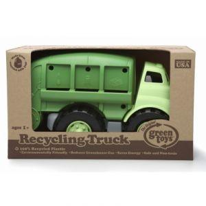 Green Toys Le camion poubelle de recyclage vert