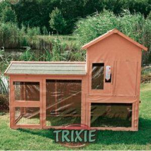 Trixie 62314 - Bâche de protection pour clapiers 62332 - 186 x 141 x 76 cm