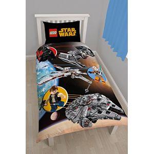 Lego Parure de lit Espace Lego Star Wars réversible (140 x 200 cm)