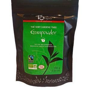 Touch organic Thé vert Gunpowder vrac bio 100g