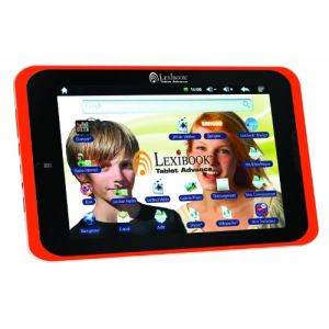 "Lexibook Tablet Advance (MFC180FR) - Tablette tactile 8""  4 Go pour enfant sur Android 4.0"