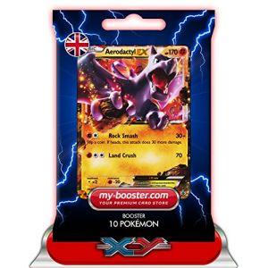 Asmodée Aerodactyl Ex - Booster 10 cartes Pokemon XY97 Promo