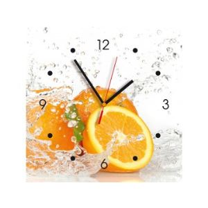 Contento Horloge murale déco Oranges