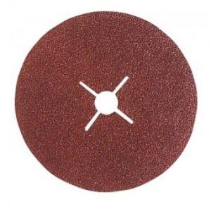 Reflex 6111580 - Disque fibre corindon brun diamètre 115 mm grain 80