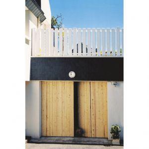 Ouest Fermeture Porte de garage 4 vantaux en sapin (200 x 240 cm)