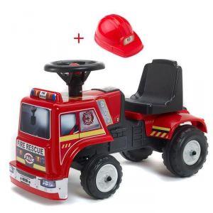 Falk Porteur Baby Fire Rescue avec casque