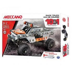Meccano Coffret 10 modèles 4 x 4 SUV