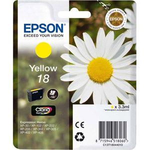 Epson T1804 - Cartouche d'encre n°18 jaune