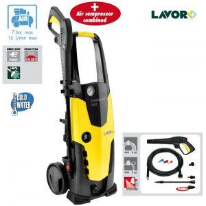 Lavor STM 140 Compressor - Nettoyeur haute pression + compresseur 140 Bars 2100W 450L/h
