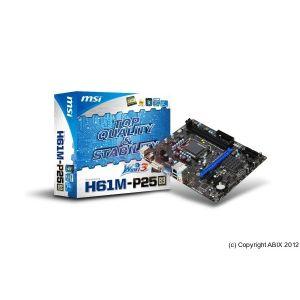 MSI H61M-P25 (B3) - Carte mère Socket LGA 1155