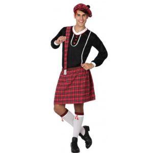 Atosa Déguisement d'écossais adulte (taille M/L)