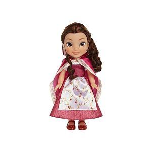 Jakks Pacific Poupée Disney Princesse Belle en robe rouge 36 cm