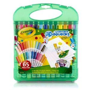 Crayola Mallette de mini feutres à colorier lavables