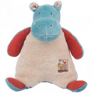 Moulin roty Peluche hochet hippopotame Les Papoum