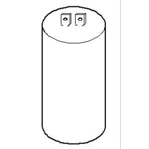 Kärcher 6.661-298.0 - Condensateur 40µf 450 V pour nettoyeurs haute pression