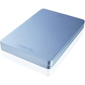 "Toshiba Canvio Alu 1 To - Disque dur externe 2.5"" USB 3.0"